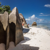 La Digue Boulders by Christian Del Rosario