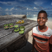 La Digue Boy by Christian Del Rosario