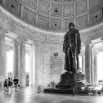 Inside the Jefferson Memorial by Christian Del Rosario