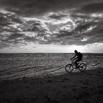 Sunset Bike Ride in La Reunion by Christian Del Rosario
