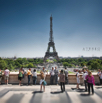 Paris Tourists - Miniature Project by Christian Del Rosario